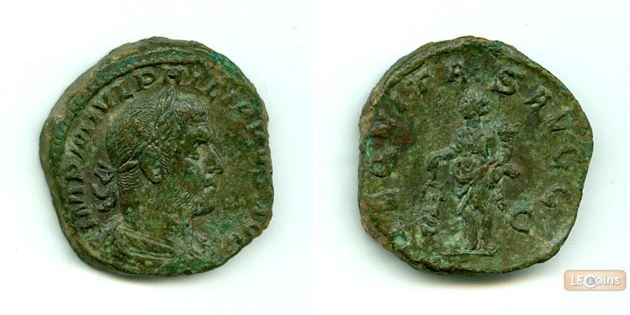 Marcus Julius PHILIPPUS I. Arabs  Sesterz  vz  [244-249]
