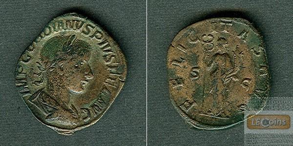 Marcus Antonius GORDIANUS III. Pius  Sesterz  vz/ss-vz  [241-244]