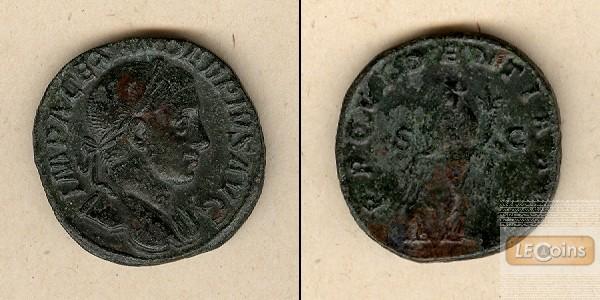 Marcus Aurelius SEVERUS ALEXANDER  Sesterz  ss+/ss  [231-235]