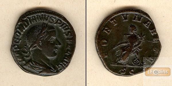Marcus Antonius GORDIANUS III. Pius  Sesterz  vz/ss  [241-244]