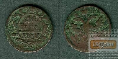 Russland 1/2 Kopeke (Denga) 1737  s