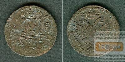 Russland 1/2 Kopeke (Denga) 1731  s-ss