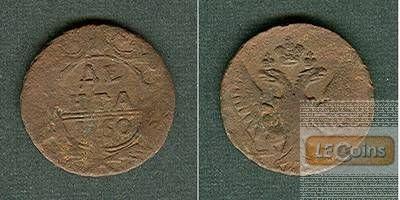 Russland 1/2 Kopeke (Denga) 1750  s