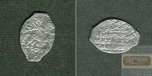 Russland  (Draht-) Kopeke Moskau  DOPPELSCHLAG  [1613-1645]