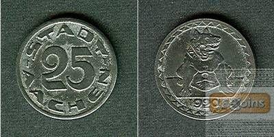 Notgeld Aachen 25 Pfennig 1920  vz-stgl.