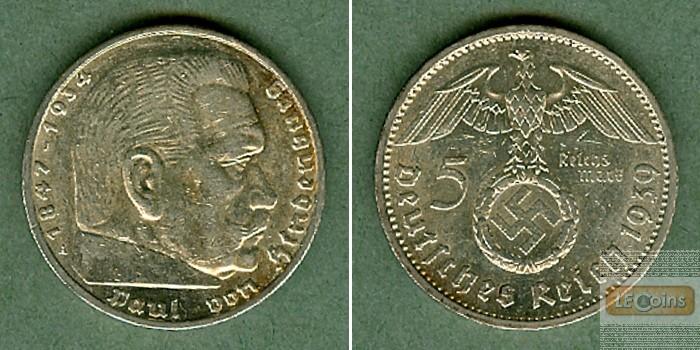 DEUTSCHES REICH 5 Reichsmark 1939 A (J.367)  vz
