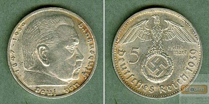 DEUTSCHES REICH 5 Reichsmark 1939 B (J.367)  vz