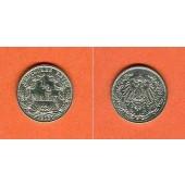 Deutsches Reich 1/2 Mark 1913 G  vz