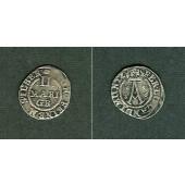 Braunschweig Wolfenbüttel 2 Mariengroschen 1656  ss