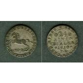 Braunschweig 1/24 Taler (Groschen) 1814 FR  ss