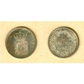 Bayern 1 Kreuzer 1843  vz-st