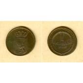 Baden 1 Kreuzer 1807  ss+