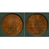 Mecklenburg Schwerin 3 Pfennige 1766 IHL  ss/s-ss