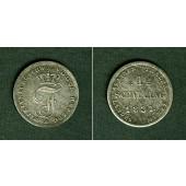 Mecklenburg Schwerin 1 Schilling 1831  ss+
