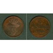 Mecklenburg Schwerin 3 Pfennige 1852 A  vz-st