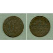 Jülich Berg 1/4 Stüber 1774 PM  ss