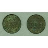 Jülich Berg 1/2 Stüber 1766 AK  ss+
