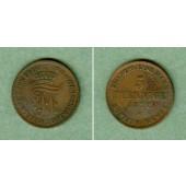 Mecklenburg Schwerin 5 Pfenninge 1872 B  vz
