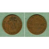 Anhalt 3 Pfennige 1840  ss