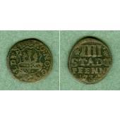 Hildesheim 4 Pfennige 1734  ss