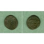 Brandenburg Bayreuth 1 Pfennig 1724  ss-vz