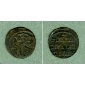Danzig (Polen) Solidus 1651(?)  s-ss  selten!