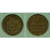 Paderborn 1 Pfennig 1786  s