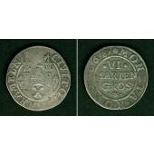 Hameln 6 Marien Groschen 1668  ss  selten