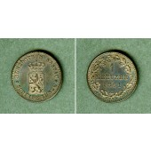 Nassau 1 Kreuzer 1861  vz-st