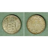 Württemberg 3 Kreuzer 1855  vz+