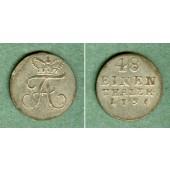 Anhalt 1/48 Taler 1796  ss-vz