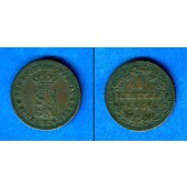 Nassau 1 Kreuzer 1861  ss