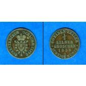 Schaumburg Lippe 1/2 Groschen 1858 A  ss