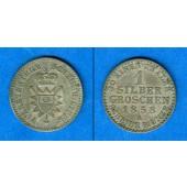 Schaumburg Lippe 1 Groschen 1858 A  ss+