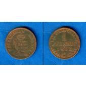 Anhalt 1 Pfennig 1862 A  ss