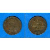 Waldeck Pyrmont 1 Pfennig 1821  ss
