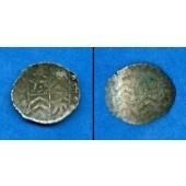 Grafschaft Königstein (Taunus) 1 Pfennig 1574  ss  selten