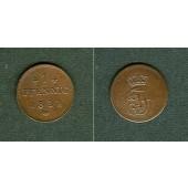 Mecklenburg Schwerin 1 Pfennig 1831  vz
