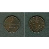 Oldenburg 3 Schwaren 1865 B  ss-vz