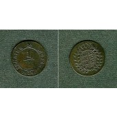 Württemberg 1/2 Kreuzer 1829  ss+