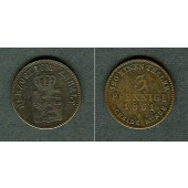 Anhalt 3 Pfennige 1861 A  f.ss