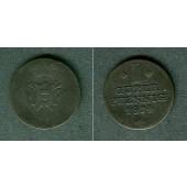 Schaumburg Lippe 1 Pfennig 1824  s-ss/ss