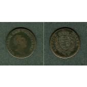 Württemberg 3 Kreuzer 1830  s/ss  selten