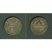 Württemberg 3 Kreuzer 1850  ss+