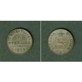 Hannover 6 Pfennige 1845 B  f.vz