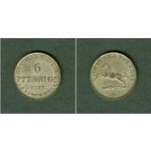 Hannover 6 Pfennige 1847 B  vz-stgl.