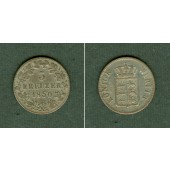 Württemberg 3 Kreuzer 1850  ss