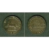 Hannover 6 Pfennige 1847 B  ss+