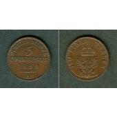 Preussen 3 Pfennige 1860 A  vz+