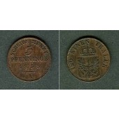 Preussen 3 Pfennige 1858 A  f.vz